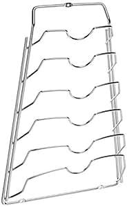 Organize It All Accessoire de Rangement pour Porte de Placard, Finition chromée