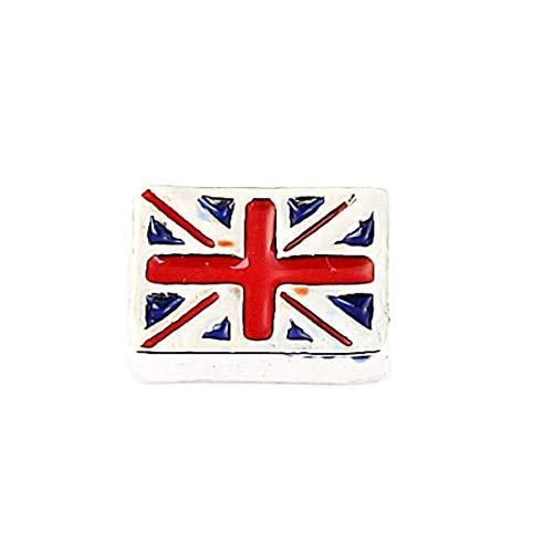 AKKi jewelry Element für Medaillon Kette,Petite Charms Elemente Pandora Style kompatibel Locket Memories Damen Schmuck Set Angebot England