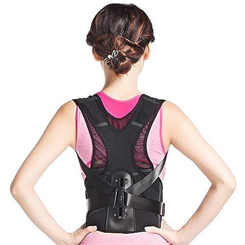 Haltungskorrektur®Neopren Breathable magnetische Haltung Corrector schlechte Rücken Schulter Lendenwirbel Stützgurt Klammer -Komfortable Luft , s