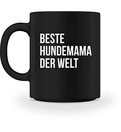 PlimPlom Beste Hundemama Der Welt Kaffeetasse Dog Mom Tasse Für Kaffee Tee Kakao Geschenkidee - Tasse Super Mom-sweatshirt