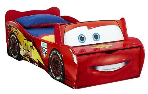 Lits Enfants Tiroirs - Lit enfant Disney Cars Flash McQueen, avec