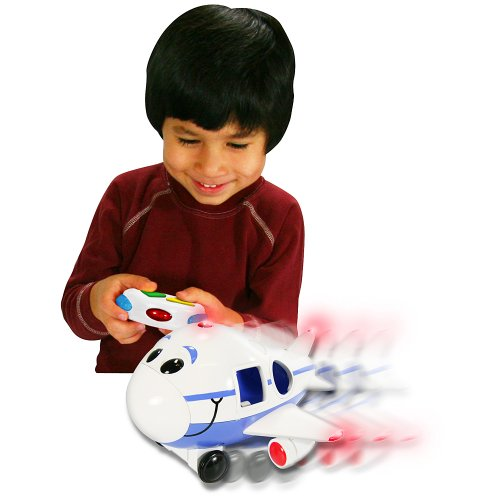 The Learning Journey 890240 Remote Control Shape Sorter Jumbo Jet Plane Toy