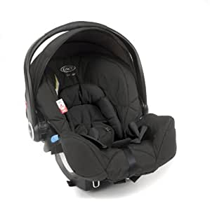 Graco Logico S HP Group 0+ Baby Car Seat (Black)
