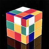 TTXLY Magic Cube 3x3x3 Speed Cube UV Impresión Espejo de Tercer Orden Cubo en Forma Juguetes Especiales Puzzle Juguete de Regalo Desarrollo Intelectual