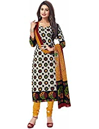 Miraan Women's Dress Material (SAN7028_Multicoloured_Free Size)