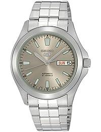 Seiko Herren-Armbanduhr XL Analog Automatik Edelstahl SNKL03