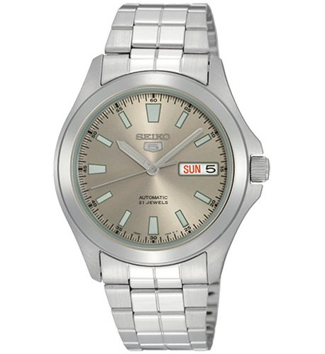 seiko-snkl03-mens-automatic-mechanical-watch-with-grey-dial-analogue-display-and-silver-stainless-st