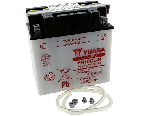 Batterie YUASA - YB16CL-B für BRP - SEA-DOO 3D 780 ccm Baujahr -07 [inkl. 7,50 EUR Batteriepfand] (Sea Doo Batterie)