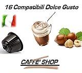 Kaffeekapseln kompatibel Nescafè Dolce Gusto®, 32 Kaffeekapseln Caffè Shop (16 Kaffeekapseln gemischt