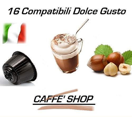 Caffè Shop Cápsulas compatibles con Nescafè Dolce Gusto®, 32 Cápsulas 16 Cápsulas Mezcla Cappuccino...