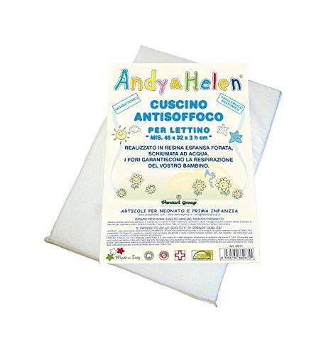 lista dei prezzi Andy & Helen A011 Cuscino Antisoffoco per Lettino