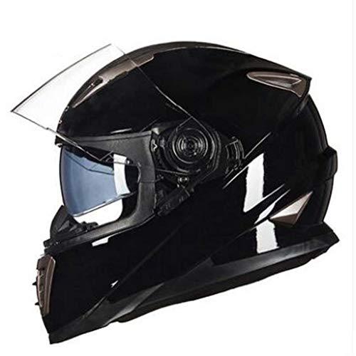 Männer Frauen Full Face Motorradhelme Double Lens Abs Material Outdoor Vollschutz Motocross Helm Frauen Helm Classic Racing Rally Helm Geschenk -