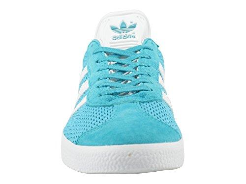 adidas Gazelle, Sneakers Basses Homme Turquoise (Eneblu/ftwwht/eneblu)