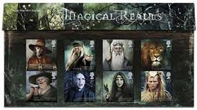 2011 Magical Realms Stamps in Presentation pack by Royal Mail