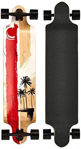 MAXOfit Longboard Long Beach 9 Capas de Arce, 104 cm, 19119