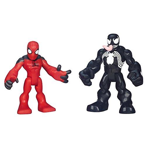 Playskool Heroes Spiderman Heroes 2 Pack - Scarlet Spider- Man & Venom