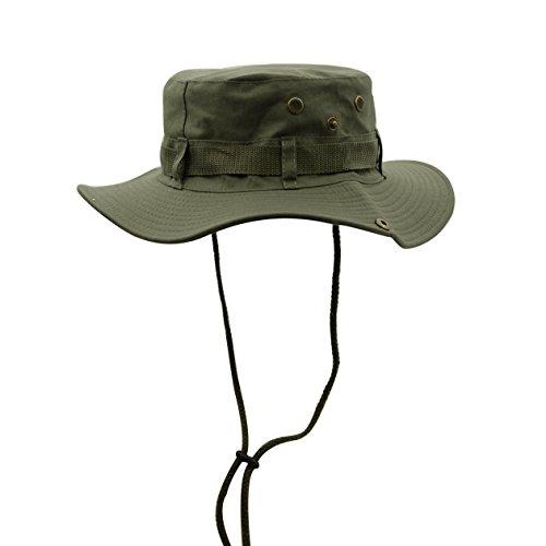 WinCret Außen Boonie Hat Bush Hut für Männer & Frauen - Multi-Farben (Mann Kostüme Armee Kunststoff)