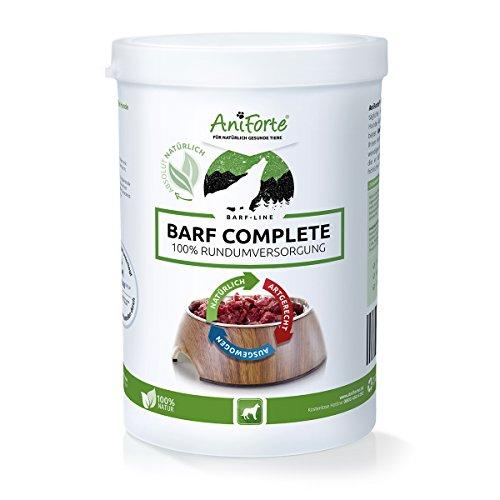 Aniforte barf complete polvere 500g per cani, integratore barf completo di alta qualità e naturale, ricco di vitamine e minerali, per l'alimentazione cruda della carne, nelle diete e per perdere peso