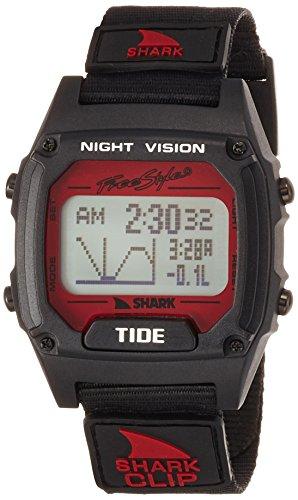 freestyle 'Marea' quarzo plastica e nylon orologio sportivo, colore: Nero (Model: 10027113)