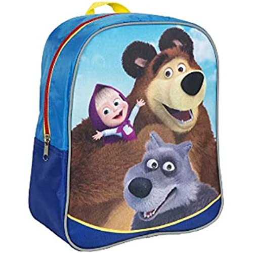 Rustoyshop Average Preschool Backpack Masha And The Bear Baby Bag