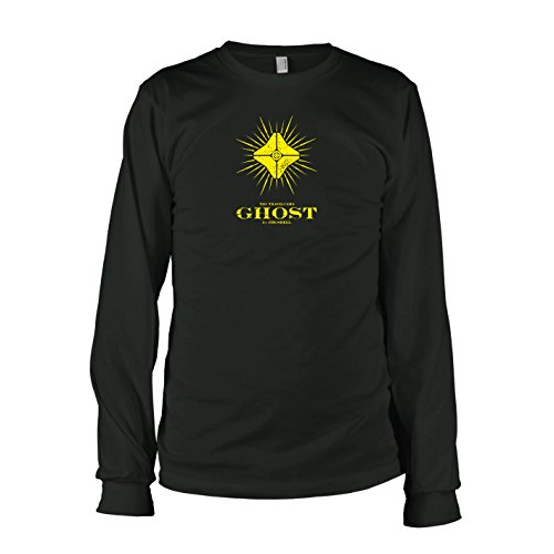 TEXLAB - Des Reisenden Geist - Langarm T-Shirt, Herren, Größe M, (Destiny Titan Kostüm)