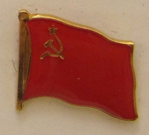 Pin Anstecker Flagge Fahne Sowjetunion UdSSR Staatsflagge