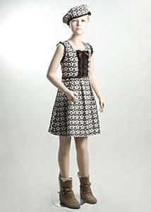 LOUTOFF Neu Kind Schaufensterpuppe Mannequin Mädchen Schaufensterfigur Kinder KW5