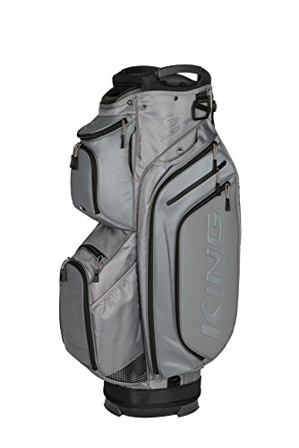 Cobra Golf 2018 King Cartbag, One Size, Nardo Grau -
