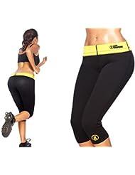 Hot Shapers Pantalon 3/4 de Fitness amaigrissant, différentes tailles (M)