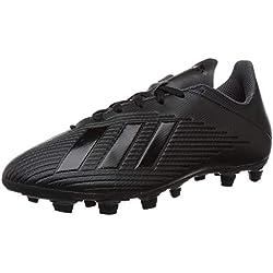 adidas X 19.4 FxG, Scarpe da Calcio Uomo, Nero (Core Black/Core Black/Utility Black Core Black/Core Black/Utility Black), 42 2/3 EU