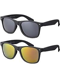 Original La Optica UV400 CAT 3 CE Unisex Sonnenbrille - Farben, Einzel-/Doppelpacks, Verspiegelt