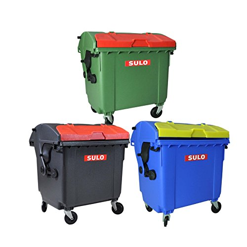 *Sulo Mini Müllcontainer 3er Set , 1100l*