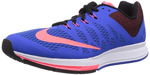 Nike Men's Air Zoom Elite Blue and Base White Running Shoes - UK 10  available at amazon for Rs.4995