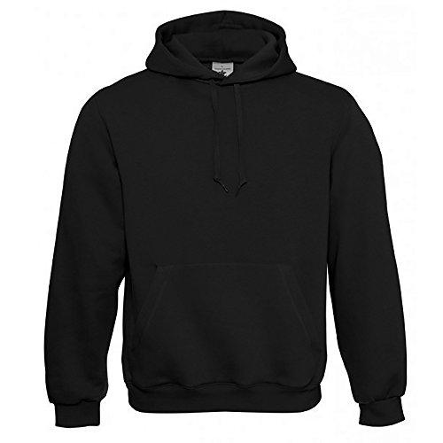 B&C Herren Kapuzenpullover / Hoodie / Kapuzensweater 3XL,Schwarz 3 Pullover Hoodies
