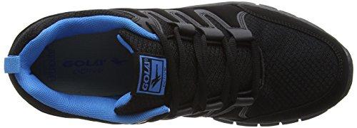 Gola Termas 2, Chaussures de Running Entrainement Homme Noir (Black/Blue)
