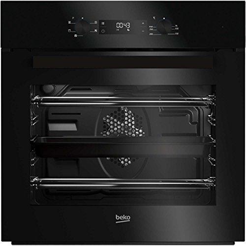 41WHIfdsSjL. SS500  - BEKO BIF22300B Big Capacity 5 Function Electric Built-in Fan Single Oven Black