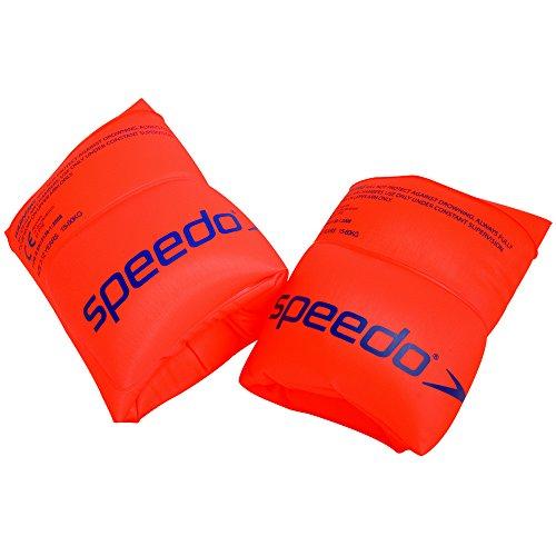 Speedo 8069451288 Roll Up Brassards de nage Orange