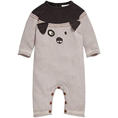 next Bebé Niño Pelele Punto Perro Mono Suave Ropa