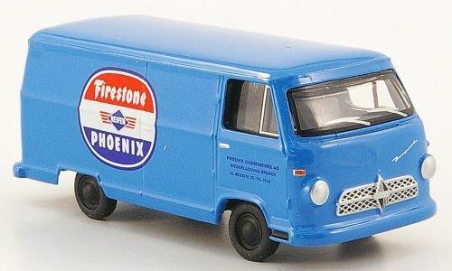borgward-b611-kasten-firestone-phoenix-gummiwerke-modellauto-fertigmodell-bub-187