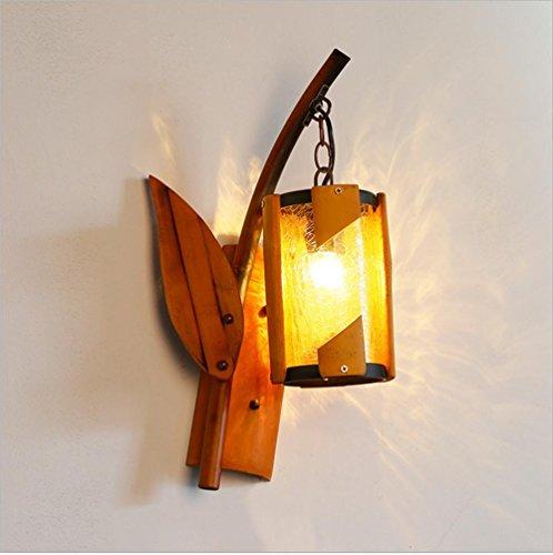 dic Antique Light Kreatives Restaurant Pers?nlichkeit Bambus Kunst Handwerk S¨¹dostasien Wand Lampe (Einzigartige Halloween-kunst Und Handwerk)