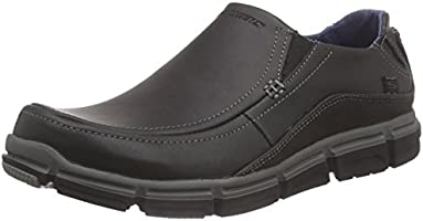 Skechers Men's Broger Rayden Slip on Loafers