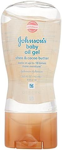 Johnson & Johnson Huile pour bébé en gel - 190 ml