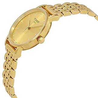 Tissot Reloj Analógico para Unisex Adultos de Cuarzo con Correa en Acero Inoxidable T1092103302100