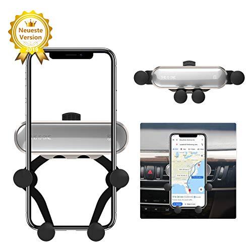 Ossky Handyhalter fürs Auto, KFZ Handyhalterung Lüftung Handy Halterung Autohalterung Universal für Smartphone 4,7