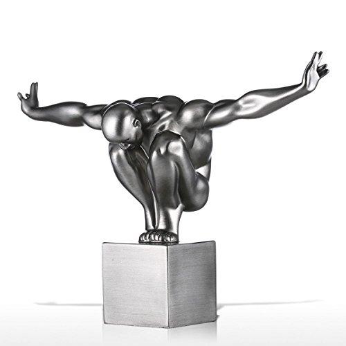Tooarts - El Buceador,Escultura De Fibra De Vidrio