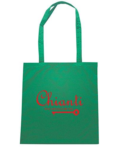 T-Shirtshock - Borsa Shopping OLDENG00828 chianti Verde