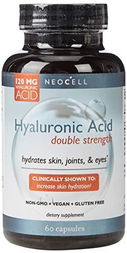 NeoCell - fuerza doble de ácido hialurónico 120 mg. - 60 cápsulas