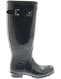 Hunter Original Tall Gloss - Botas para mujer