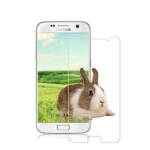 [2 Stück] Schutzfolie für Samsung Galaxy S7, iTURBOS Vollständige Abdeckung Galaxy S7 Displayschutzfolie Blasenfrei, Anti-Fingerabdruck, Full HD Ultra-klar, Einfache Installation