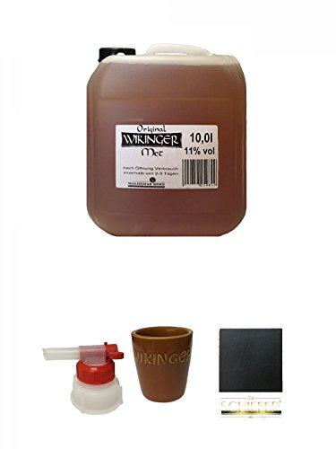 Wikinger Met Behn Honigwein 10 Liter Kanister + Pumpe für Wikinger Met 10 Liter Kanister + Wikinger...